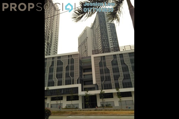 For Rent Serviced Residence at CyberSquare, Cyberjaya Freehold Semi Furnished 2R/2B 2k