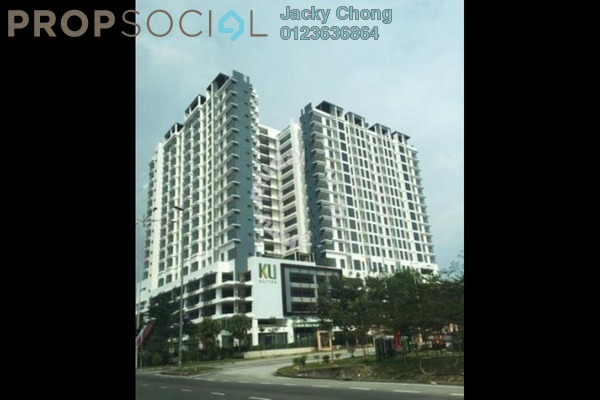 For Sale Serviced Residence at KU Suites, Kemuning Utama Freehold Semi Furnished 3R/2B 660k
