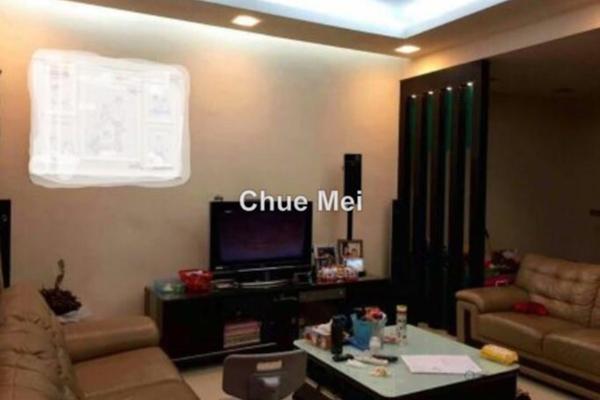 For Sale Terrace at Prima Saujana, Kajang Freehold Semi Furnished 3R/2B 580k