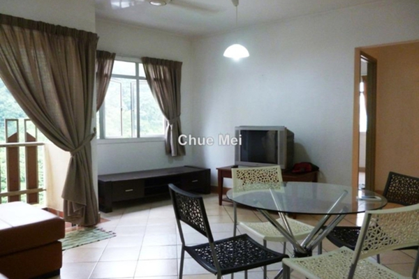 For Sale Apartment at Perdana Exclusive, Damansara Perdana Leasehold Fully Furnished 2R/2B 455k