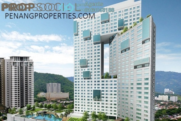 For Sale Condominium at Pearl Regency, Gelugor Freehold Fully Furnished 3R/3B 1.15m