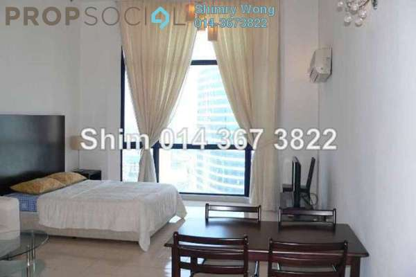 For Rent Apartment at Amcorp Serviced Suites, Petaling Jaya Leasehold Fully Furnished 1R/1B 2.6k
