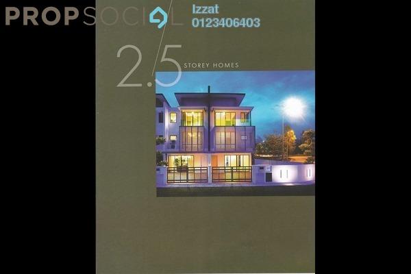 For Sale Terrace at Puncak Perdana, Shah Alam Leasehold Unfurnished 0R/4B 707k
