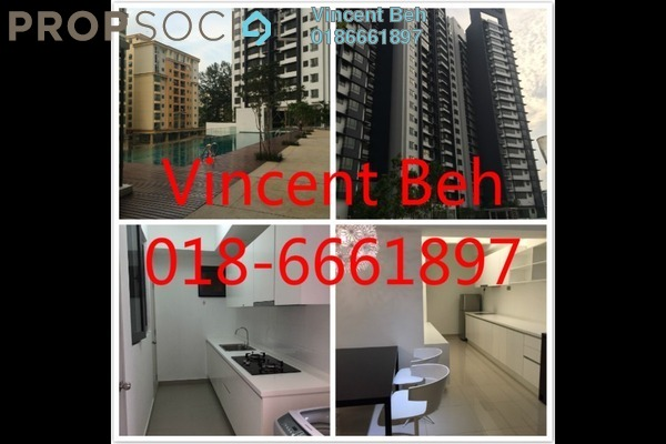 For Sale Condominium at Residence 8, Old Klang Road Freehold Semi Furnished 4R/4B 615k
