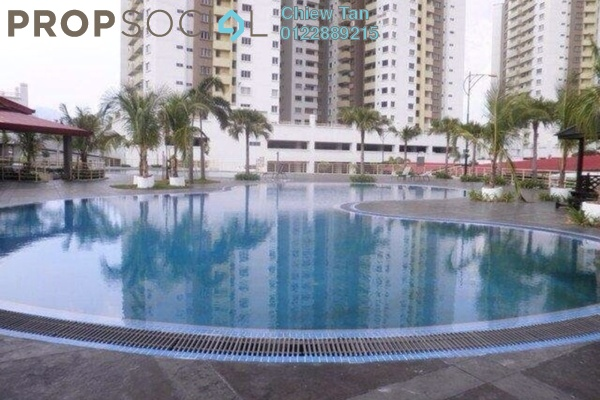 For Rent Condominium at Magna Ville, Selayang Leasehold Semi Furnished 3R/2B 1.1k