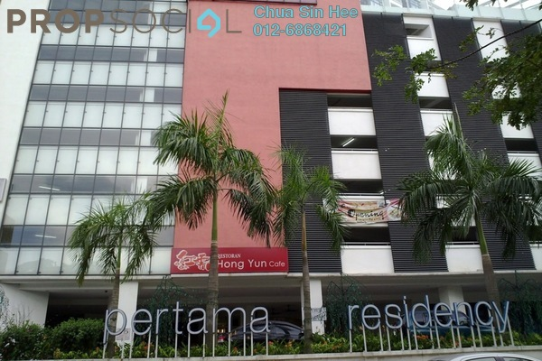 For Sale Condominium at Pertama Residency, Cheras Leasehold Fully Furnished 1R/1B 438k