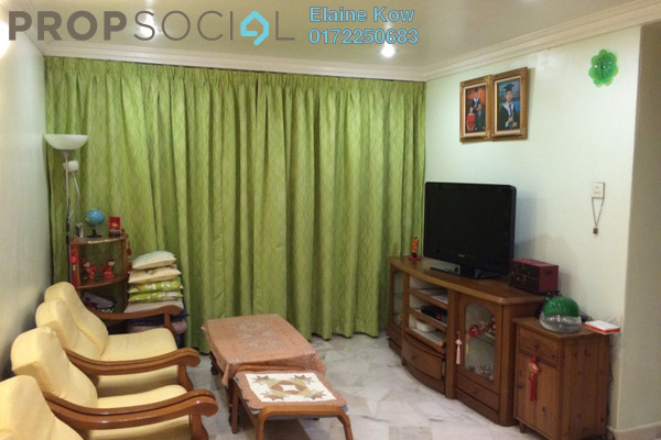 For Sale Apartment at Taman Sri Sentosa, Old Klang Road Leasehold Fully Furnished 3R/2B 320k