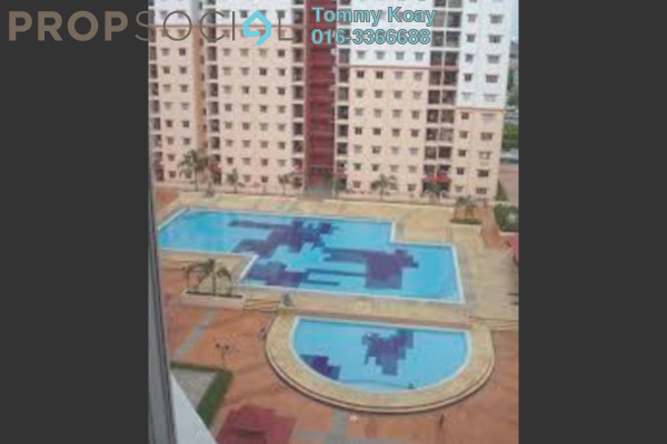 For Rent Apartment at Bayu Puteri, Tropicana Leasehold Semi Furnished 3R/2B 1.45k