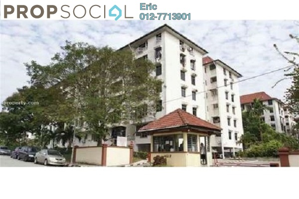 For Rent Apartment at Nova I, Segambut Freehold Semi Furnished 2R/1B 1.4k