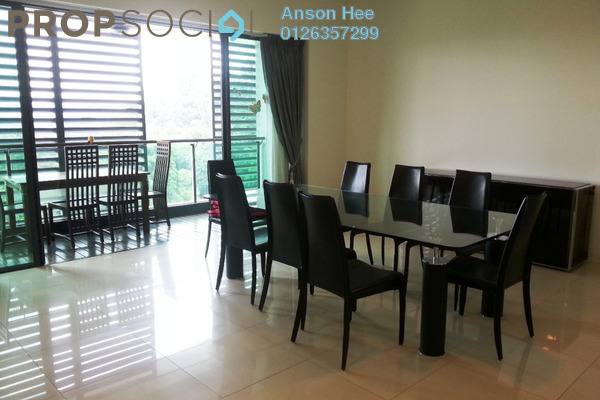For Rent Condominium at Zehn Bukit Pantai, Bangsar Leasehold Fully Furnished 3R/5B 9k