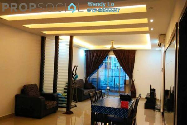 For Rent Condominium at Zen Residence, Puchong Leasehold Fully Furnished 3R/3B 2.3千