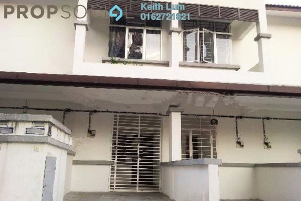For Sale Townhouse at Taragon Puteri Cheras, Batu 9 Cheras Freehold Semi Furnished 3R/2B 480k