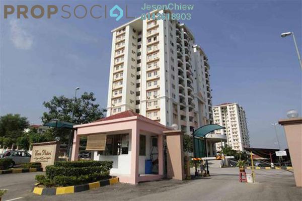 For Rent Apartment at Casa Puteri, Bandar Puteri Puchong Freehold Semi Furnished 3R/2B 1.4千