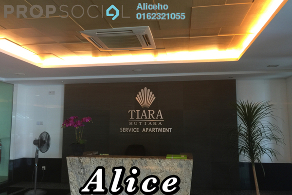 For Rent Serviced Residence at Tiara Mutiara, Old Klang Road Freehold Semi Furnished 3R/2B 1.5k