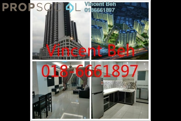 For Sale Serviced Residence at OUG Parklane, Old Klang Road Freehold Unfurnished 3R/2B 380k