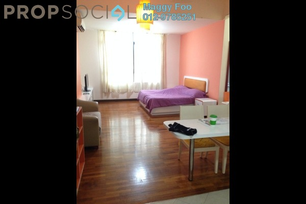For Rent SoHo/Studio at The Heritage, Seri Kembangan Freehold Fully Furnished 1R/1B 1.5k