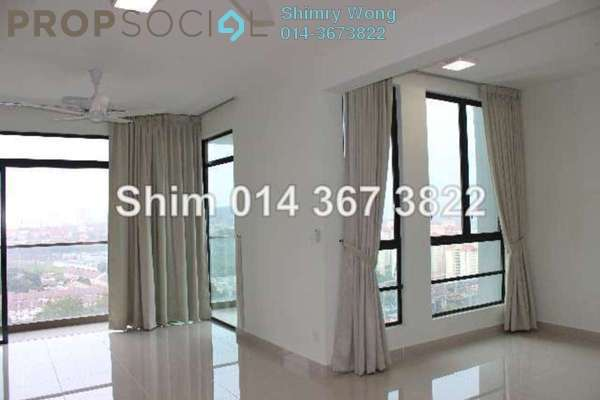 For Rent Condominium at The Z Residence, Bukit Jalil Freehold Semi Furnished 3R/2B 2k