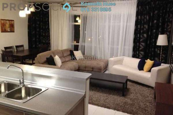 For Sale Condominium at The Saffron, Sentul Freehold Semi Furnished 3R/2B 750k