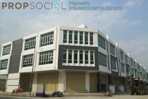 For Sale Shop at Pusat Bandar Puchong Industrial Park, Pusat Bandar Puchong Freehold Unfurnished 0R/0B 1.8m