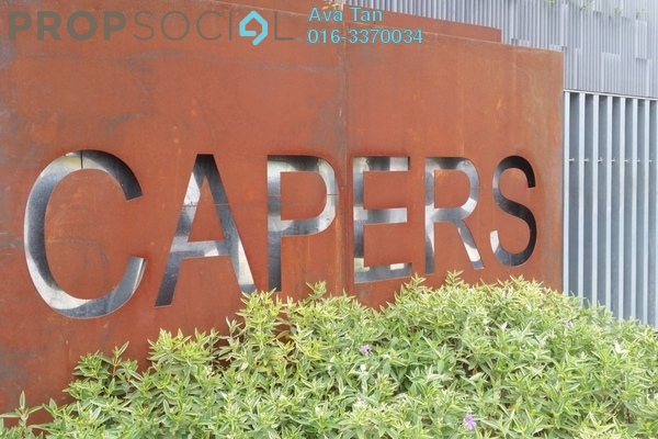 For Sale Condominium at The Capers, Sentul Freehold Semi Furnished 3R/4B 1.38m
