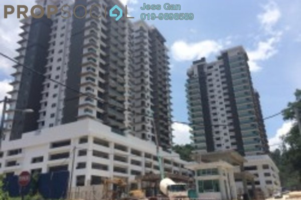 For Sale Condominium at Rimba Residence, Bandar Kinrara Freehold Semi Furnished 4R/3B 900k