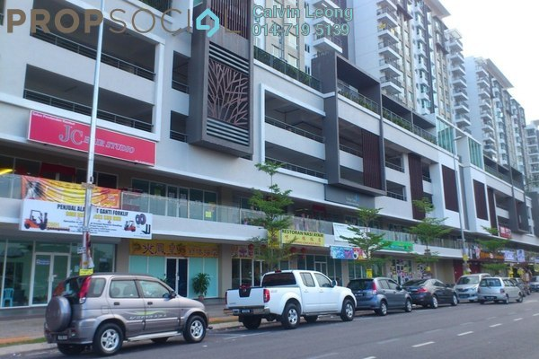 For Rent Condominium at First Residence, Kepong Leasehold Semi Furnished 3R/2B 2.3k