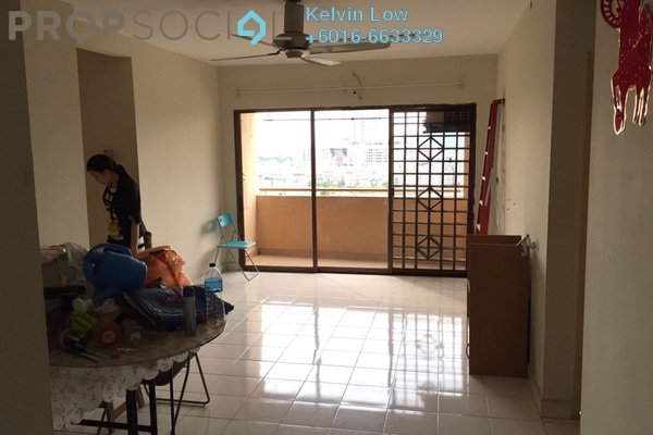 For Rent Condominium at Palm Spring, Kota Damansara Leasehold Semi Furnished 3R/2B 1.6k