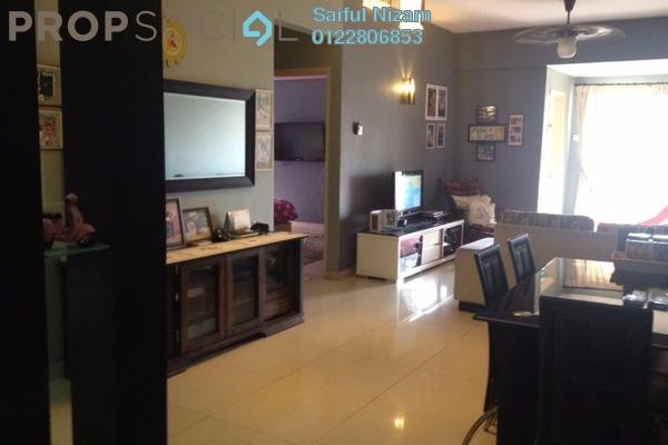For Sale Condominium at Nilam Puri, Bandar Bukit Puchong Freehold Semi Furnished 3R/2B 395k