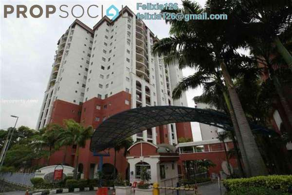 For Rent Condominium at Ketumbar Hill, Cheras Freehold Semi Furnished 2R/2B 1.4k