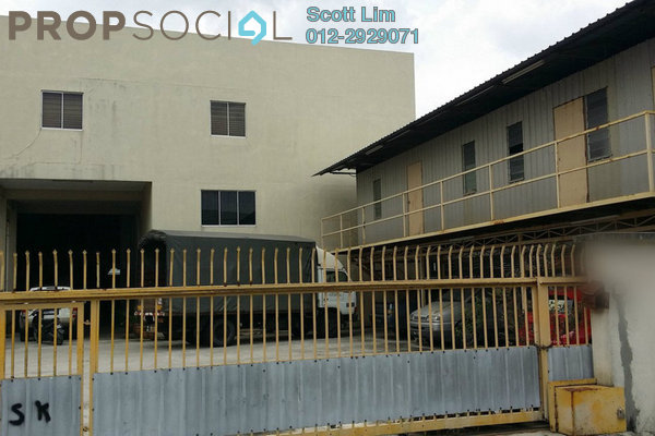 For Sale Factory at Kampung Baru Sungai Buloh, Sungai Buloh Leasehold Semi Furnished 0R/2B 4.3m