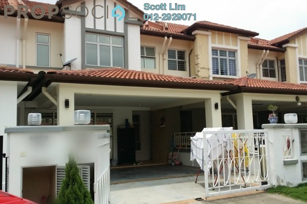 For Sale Terrace at Kemuning Utama Bayu, Kemuning Utama Freehold Semi Furnished 4R/4B 860k