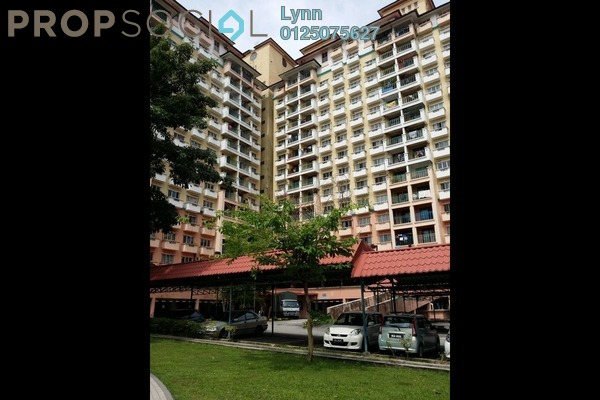 For Sale Apartment at Arena Green, Bukit Jalil Freehold Fully Furnished 2R/2B 355k