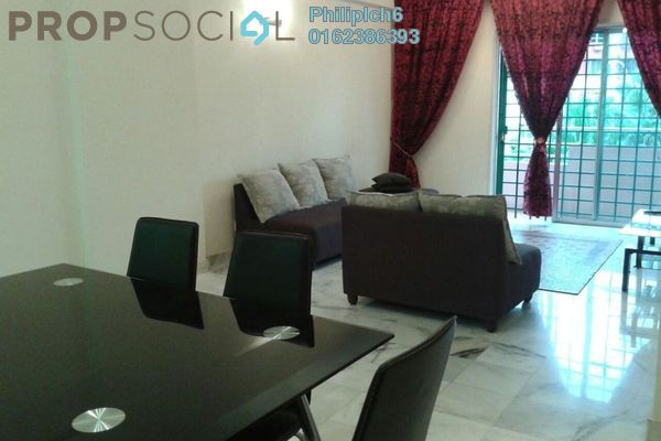 For Rent Condominium at Pandan Puteri, Pandan Indah Leasehold Fully Furnished 3R/2B 1.7k