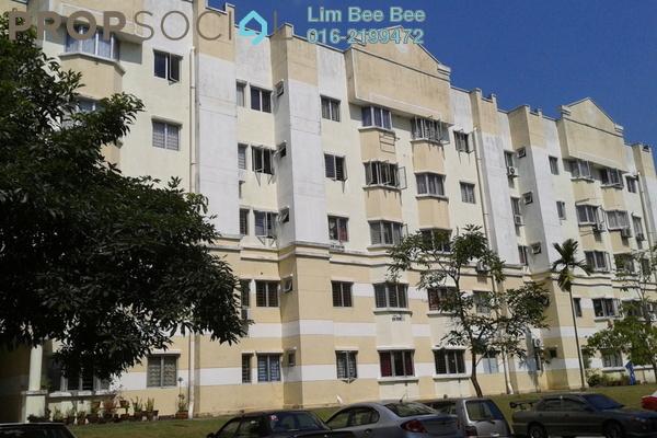 For Rent Apartment at Taman Mutiara Subang, Subang Freehold Fully Furnished 3R/3B 1.1k