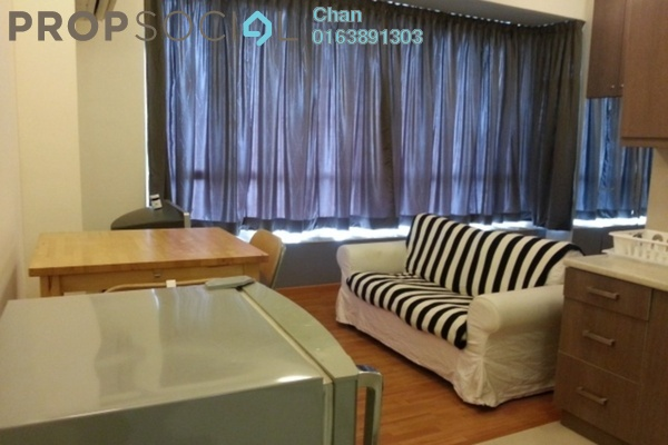 For Rent SoHo/Studio at Park View, KLCC Freehold Fully Furnished 1R/1B 2.3k
