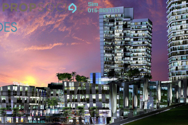 For Sale Office at Cascades, Kota Damansara Leasehold Unfurnished 0R/0B 800k