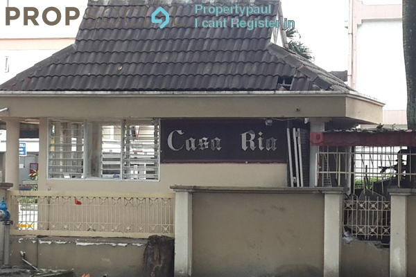 For Rent Condominium at Casa Ria, Cheras Freehold Semi Furnished 3R/2B 2k