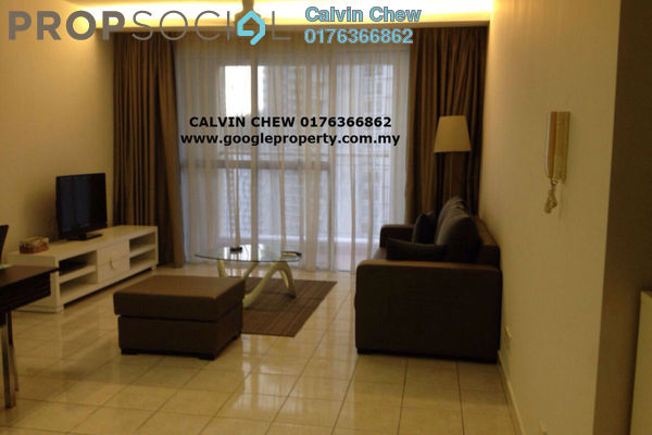 For Rent Condominium at Mont Kiara Bayu, Mont Kiara Freehold Fully Furnished 1R/2B 2.7k
