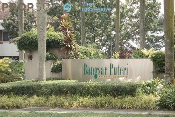 For Rent Condominium at Bangsar Puteri, Bangsar Freehold Fully Furnished 2R/2B 3k
