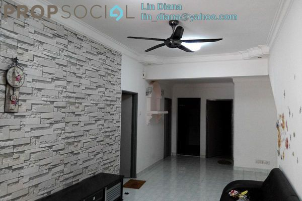 For Rent Townhouse at Taman Lagenda Mas, Cheras South Freehold Semi Furnished 3R/2B 1.4k