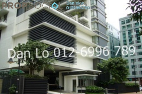 For Rent Condominium at 2 Hampshire, KLCC Freehold Semi Furnished 3R/5B 8.5k