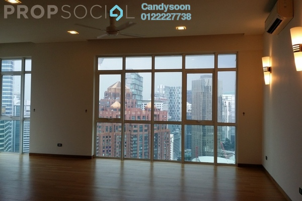 For Rent Serviced Residence at The Pearl, KLCC Freehold Semi Furnished 3R/3B 10k