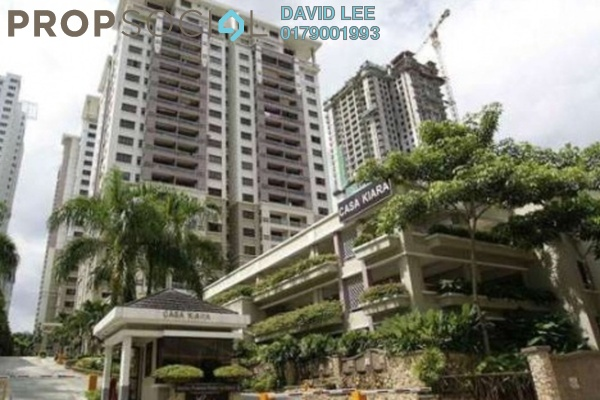 For Rent Condominium at Casa Kiara I, Mont Kiara Freehold Fully Furnished 4R/3B 2.9k