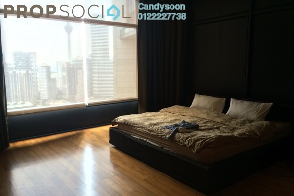 For Sale Serviced Residence at The Troika, KLCC Freehold Fully Furnished 3R/3B 3.3m