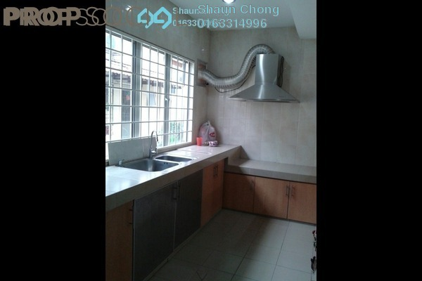 For Sale Terrace at Seksyen 9, Bandar Mahkota Cheras Freehold Fully Furnished 3R/3B 600k