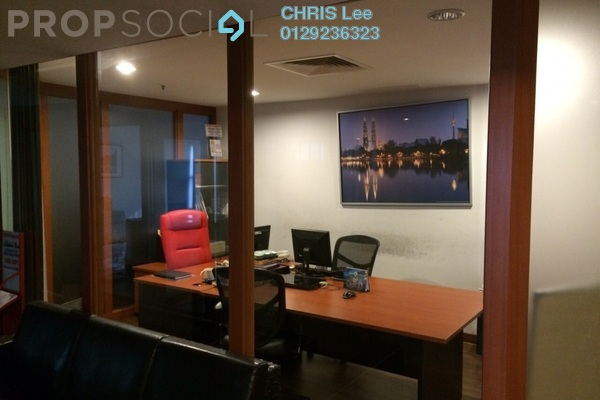 For Sale Office at Plaza 138, KLCC Freehold Fully Furnished 3R/1B 1.15m