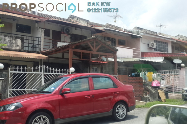 For Rent Terrace at SS19, Subang Jaya Freehold Unfurnished 2R/2B 1.2k