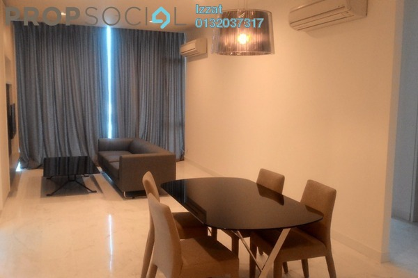 For Rent Serviced Residence at Platinum Suites, KLCC Freehold Fully Furnished 2R/2B 5k