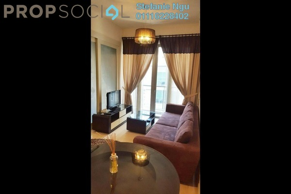 For Rent Condominium at Marc Service Residence, KLCC Freehold Fully Furnished 1R/1B 3.5k
