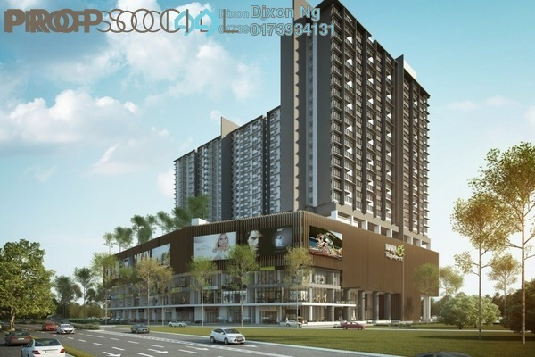 For Sale Serviced Residence at Kiara Plaza, Semenyih Freehold Unfurnished 1R/1B 278k